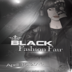 Black Fashion Fair 2016 - Poster