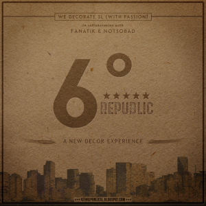 6 REPUBLIC LOGO 2017 2018